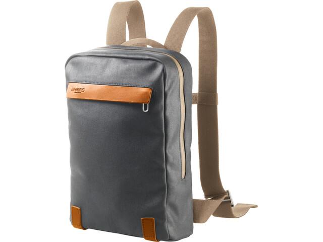 Brooks Pickzip Canvas Backpack small grey/honey